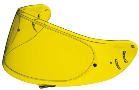 VIZIERA CASCA SHOEI CWF-1 High Definition Yellow (racing)
