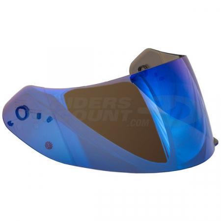 Viziera pentru casca SCORPION EXO 390/410/510/710/1200/2000EVO Albastru oglinda