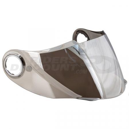 Viziera pentru casca SCORPION EXO 490/500/1000 Argintiu oglinda