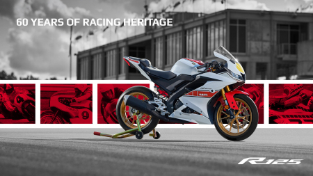 Yamaha R125 World GP 60th Anniversary [1]