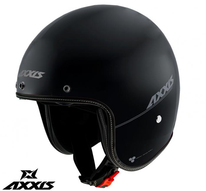 Casca Axxis model Hornet SV A1 negru mat (ochelari soare integrati) [0]