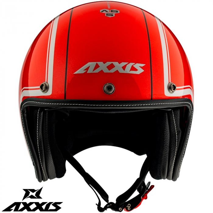 Casca Axxis model Hornet SV Royal A5 rosu lucios (ochelari soare integrati) [1]