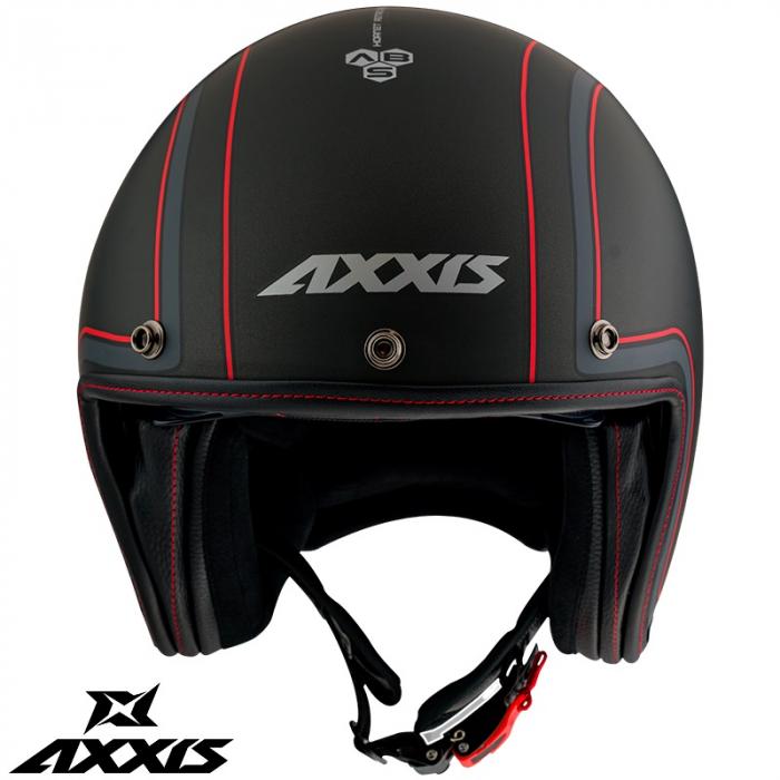 Casca Axxis model Hornet SV Royal B1 negru mat (ochelari soare integrati) [1]