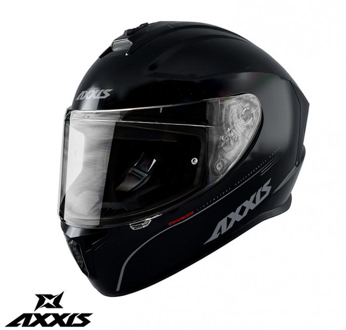 Casca integrala Axxis model Draken A11 negru lucios [0]