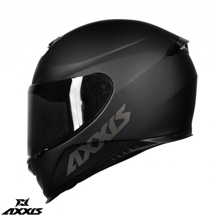 Casca integrala Axxis model Eagle SV A1 negru mat (ochelari soare integrati) [2]