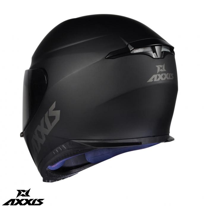 Casca integrala Axxis model Eagle SV A1 negru mat (ochelari soare integrati) [6]