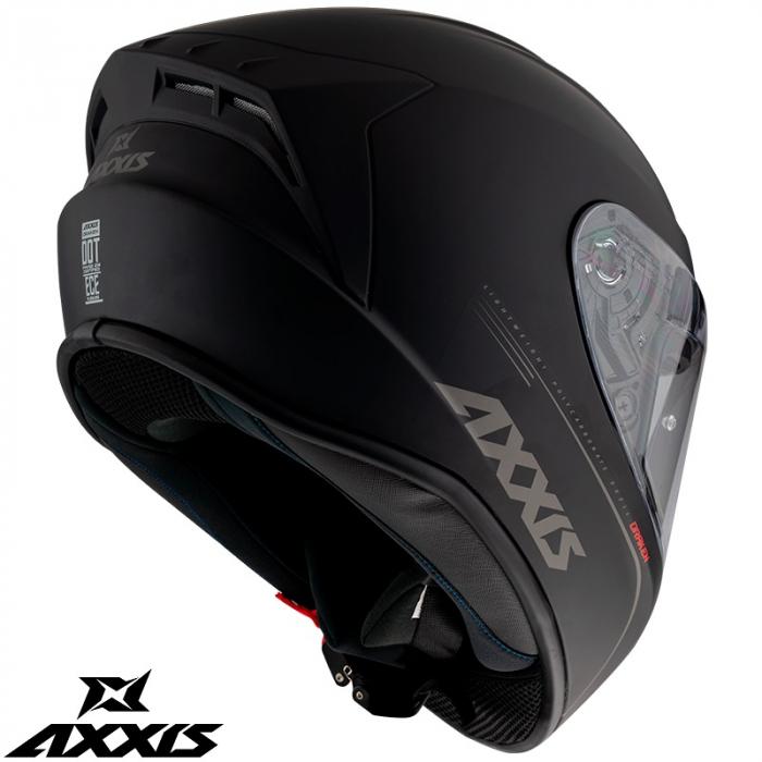 Casca integrala Axxis model Eagle SV A1 negru mat (ochelari soare integrati) [4]