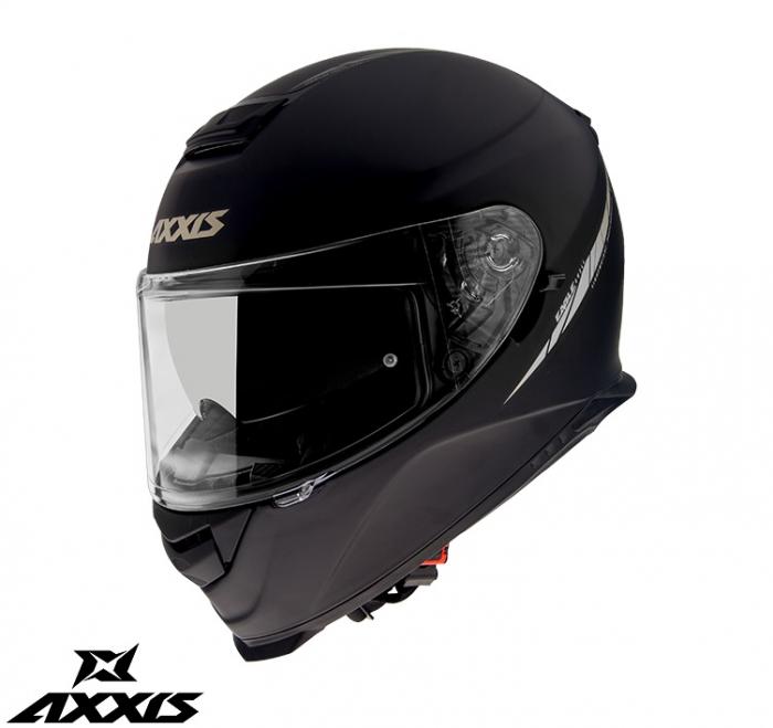 Casca integrala Axxis model Eagle SV A1 negru mat (ochelari soare integrati) [0]