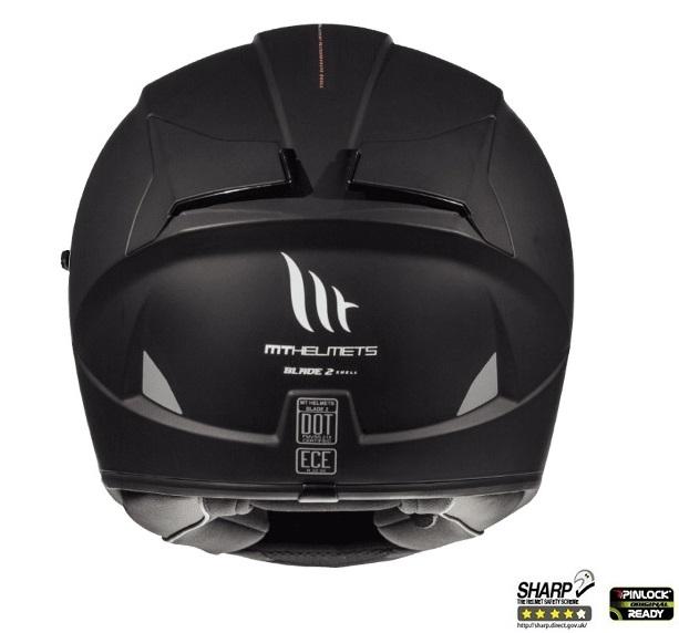 Casca integrala motociclete MT Blade 2 SV A1 negru mat (ochelari soare integrati) [3]