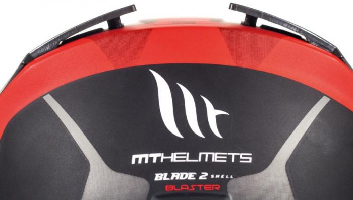 Casca integrala motociclete MT Blade 2 SV Blaster B2 rosu mat (ochelari soare integrati) [10]