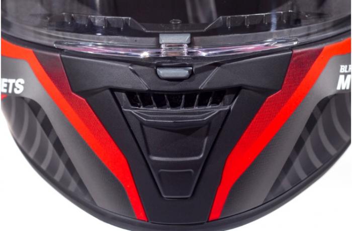 Casca integrala motociclete MT Blade 2 SV Blaster B2 rosu mat (ochelari soare integrati) [7]