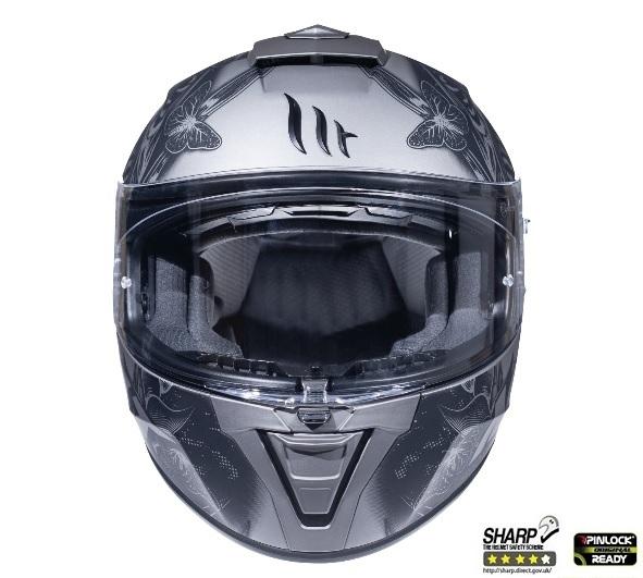 Casca integrala motociclete MT Blade 2 SV Breeze E2 gri mat (ochelari soare integrati) [2]