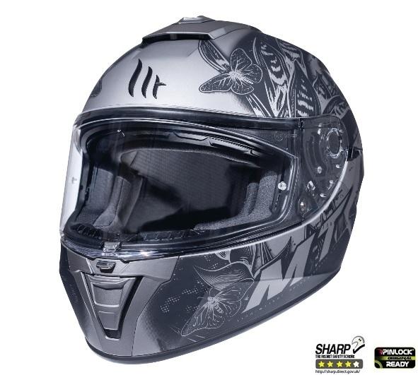 Casca integrala motociclete MT Blade 2 SV Breeze E2 gri mat (ochelari soare integrati) [1]