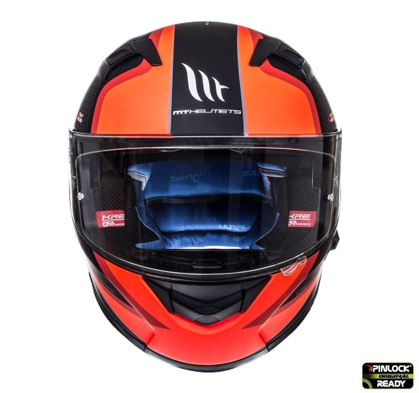 Casca integrala motociclete MT KRE SV Momentum negru/titanium/rosu intens mat (fibra sticla) – cu ochelari soare integrati [1]