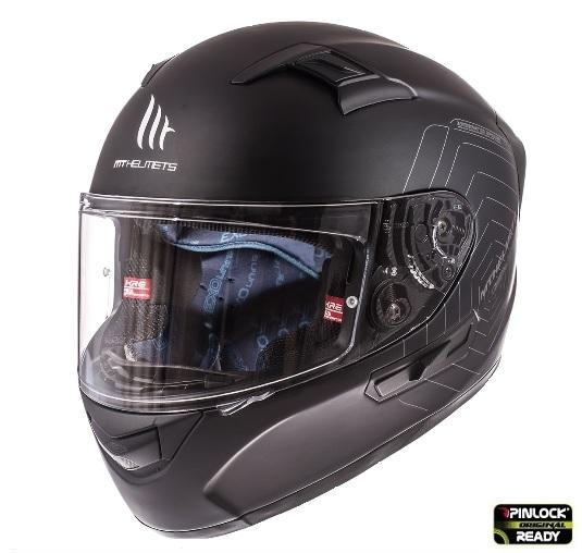 Casca integrala motociclete MT KRE SV negru mat (fibra sticla) – cu ochelari soare integrati [2]