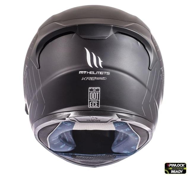 Casca integrala motociclete MT KRE SV negru mat (fibra sticla) – cu ochelari soare integrati [3]