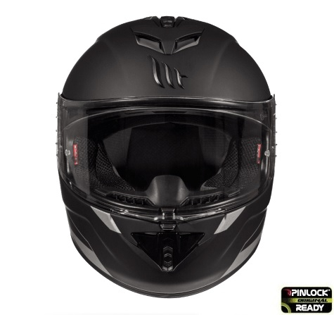 Casca integrala motociclete MT Rapide A1 negru mat (fibra sticla) [2]