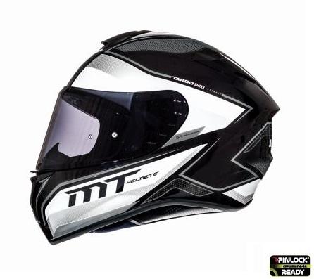 Casca integrala motociclete MT Targo Interact A8 gri/alb/negru lucios [0]