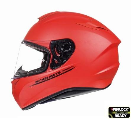 Casca integrala motociclete MT Targo solid A5 rosu mat [0]