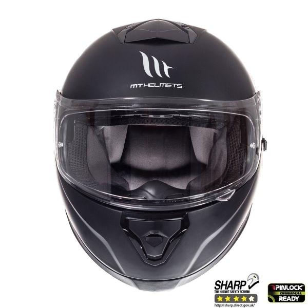 Casca integrala motociclete MT Thunder III SV negru mat (ochelari soare integrati [2]