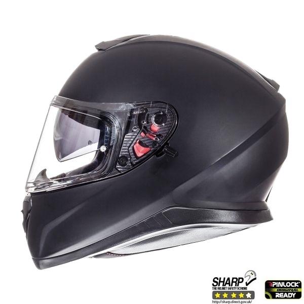 Casca integrala motociclete MT Thunder III SV negru mat (ochelari soare integrati [0]