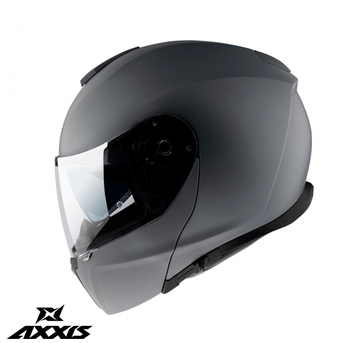 Casca modulabila Axxis model Gecko SV A1 negru mat (ochelari soare integrati) [2]