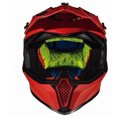 Casca off road motociclete MT Falcon Karson F1 rosu mat [2]
