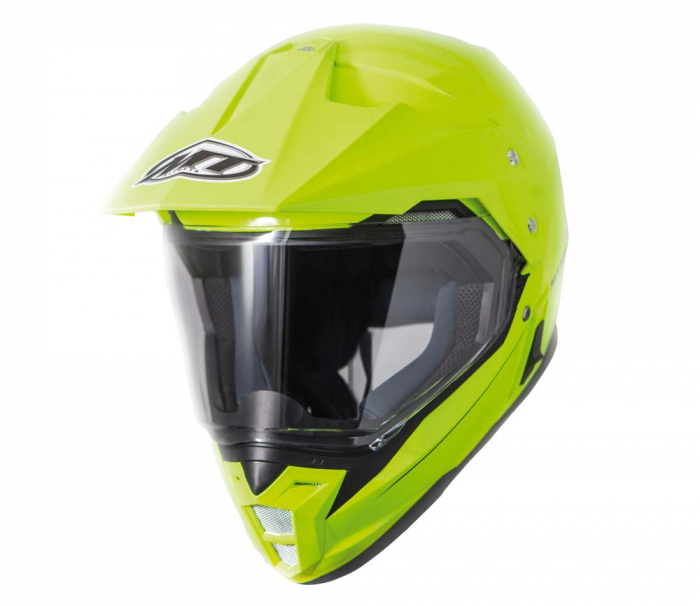 Casca off road motociclete MT Synchrony Duo Sport galben fluor lucios cu viziera (ochelari soare integrati) [3]