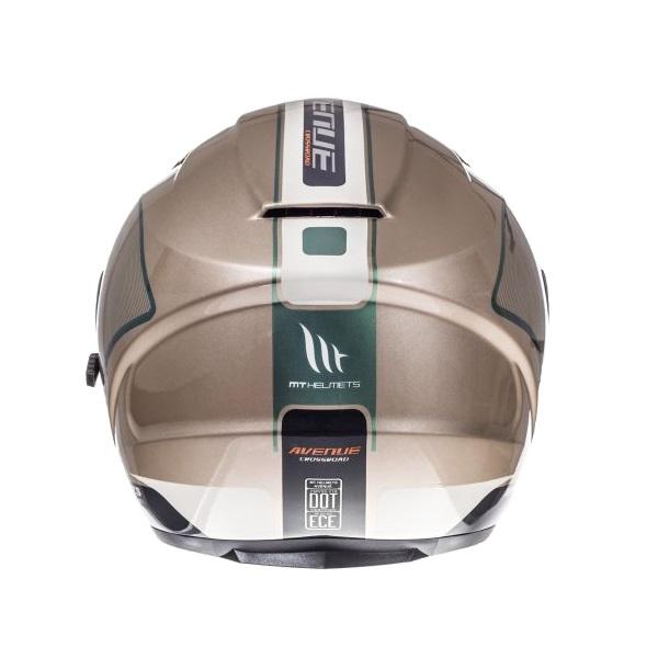 Casca open face motociclete MT Avenue SV Crossroad alb/gri lucios (ochelari soare integrati) [3]