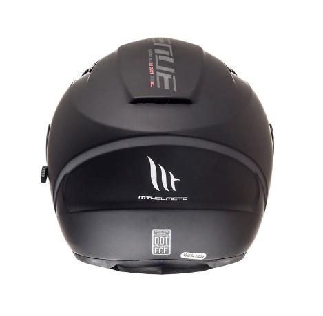 Casca open face motociclete MT Avenue SV negru mat (ochelari soare integrati) [3]
