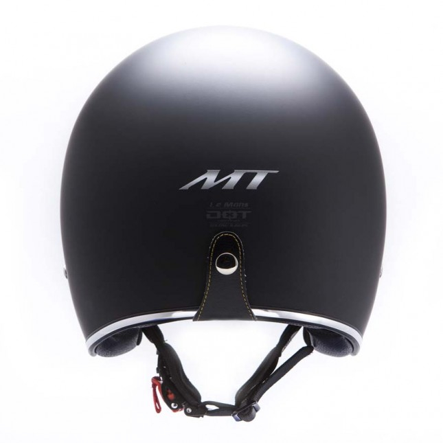 Casca open face motociclete MT Le Mans SV negru mat (ochelari soare integrati) [3]