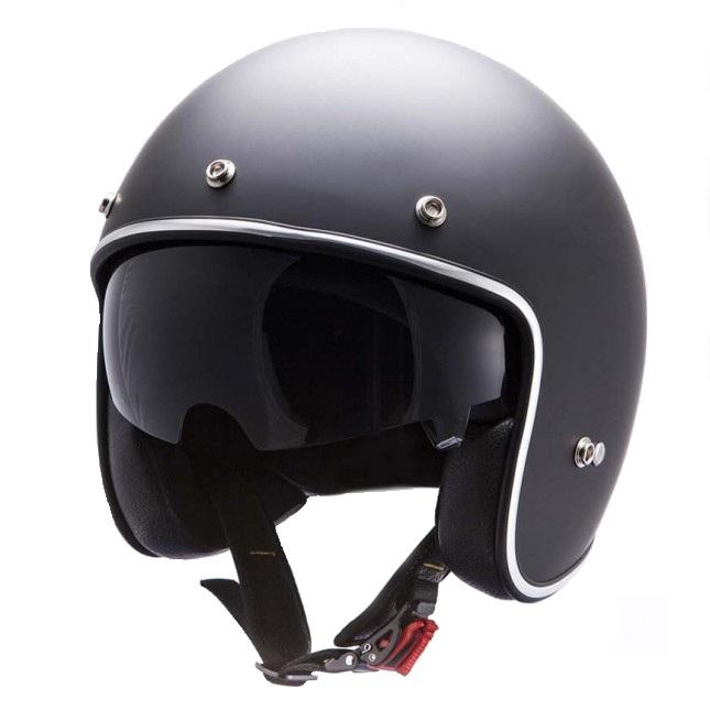 Casca open face motociclete MT Le Mans SV negru mat (ochelari soare integrati) [1]