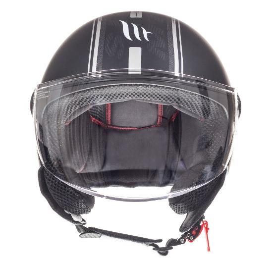 Casca open face motociclete MT Street Entire C9 negru mat [2]