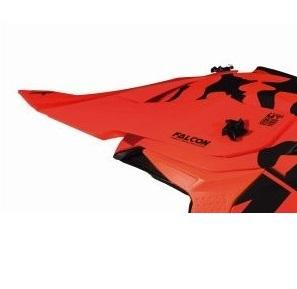 Cozoroc tip MX802 – casca off road MT Falcon Karson F3 portocaliu mat [0]