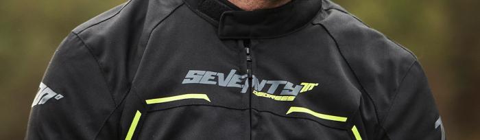 Geaca (jacheta) barbati Racing Seventy vara/iarna model SD-JR65 culoare: negru/galben fluor [2]