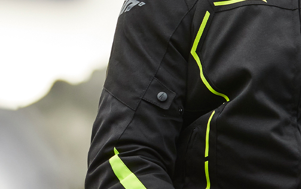 Geaca (jacheta) barbati Racing Seventy vara/iarna model SD-JR65 culoare: negru/galben fluor [3]