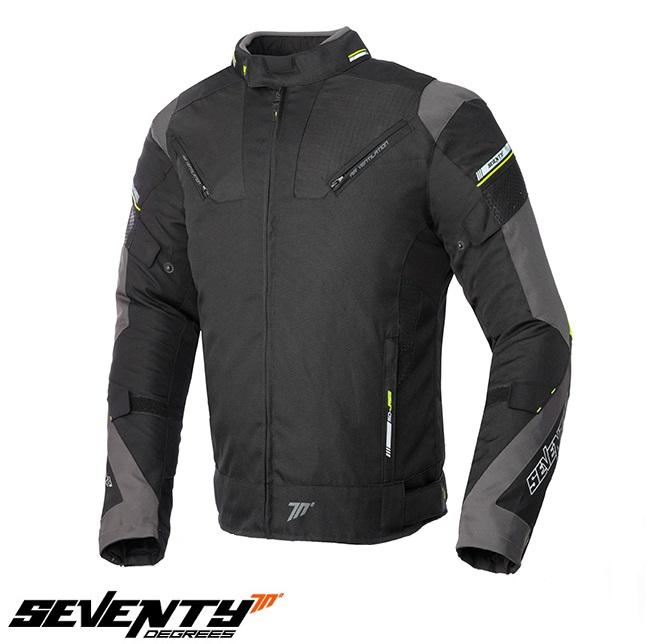 Geaca (jacheta) barbati Racing Seventy vara/iarna model SD-JR69 culoare: negru/galben fluor [0]