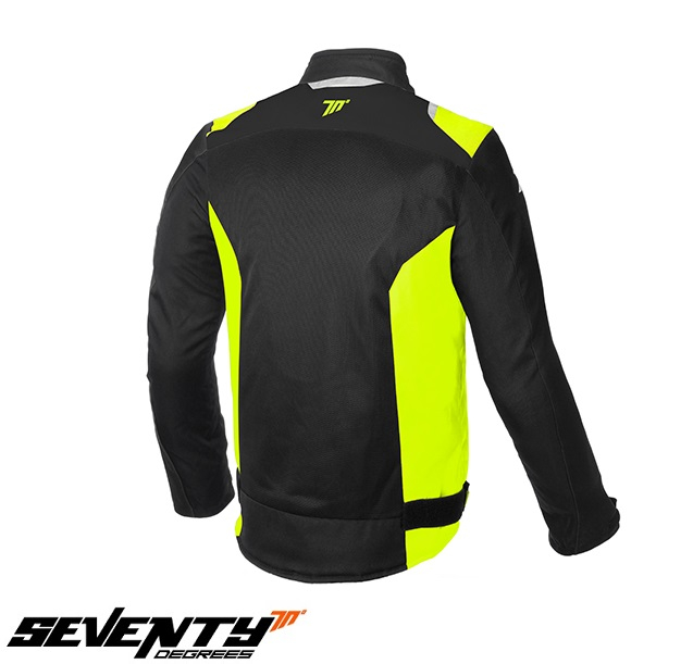 Geaca (jacheta) barbati Racing vara Seventy model SD-JR48 culoare: negru/galben fluor [1]