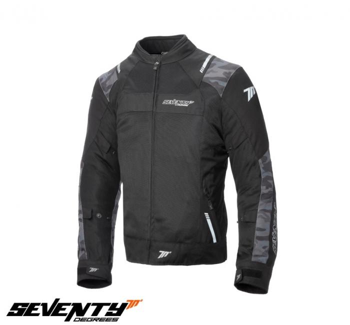 Geaca (jacheta) barbati Racing vara Seventy model SD-JR52 culoare: negru/camuflaj [0]