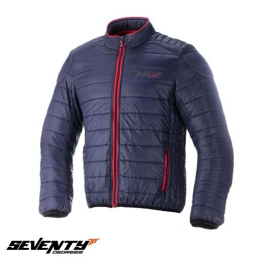 Geaca (jacheta) barbati Urban Seventy model SD-A5 culoare: albastru/rosu – tip Softshell – greutate redusa [0]