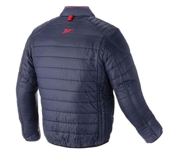 Geaca (jacheta) barbati Urban Seventy model SD-A5 culoare: albastru/rosu – tip Softshell – greutate redusa [1]