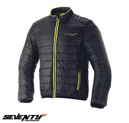 Geaca (jacheta) barbati Urban Seventy model SD-A5 culoare: negru/verde fluor – tip Softshell – greutate redusa [0]