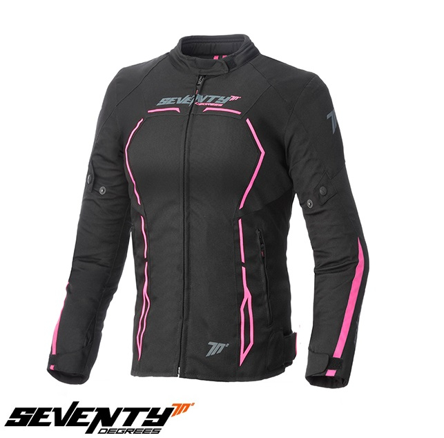 Geaca (jacheta) femei Racing Seventy vara/iarna model SD-JR67 culoare: negru/roz [0]