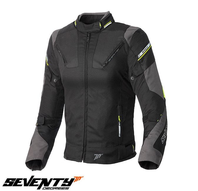 Geaca (jacheta) femei Racing Seventy vara/iarna model SD-JR71 culoare: negru/gralben fluor [0]