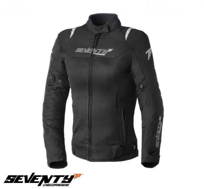 Geaca (jacheta) femei Racing vara Seventy model SD-JR50 culoare: negru [0]