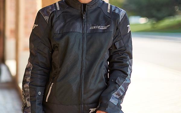Geaca (jacheta) femei Racing vara Seventy model SD-JR54 culoare: negru/camuflaj [5]