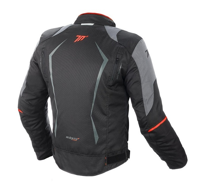 Geaca (jacheta) motociclete barbati Racing Seventy vara/iarna model SD-JR47 culoare: negru/rosu [1]