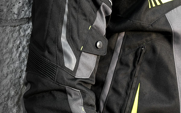 Geaca (jacheta) motociclete barbati Racing Seventy vara/iarna model SD-JR55 culoare: negru/gri [3]