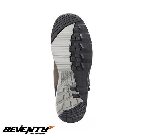Ghete (cizme) moto Adventure (Touring) Unisex Seventy model SD-BA4 culoare: negru [1]