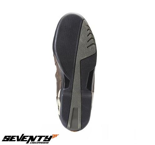 Ghete (cizme) moto Touring Unisex Seventy model SD-BT2 culoare: maro [1]
